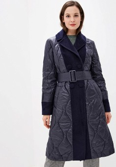 Куртка утепленная, Grand Style, цвет: синий. Артикул: GR025EWGDUX4. Одежда / Верхняя одежда / Демисезонные куртки