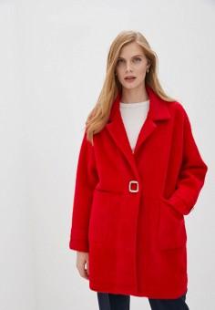 Шуба, Grand Style, цвет: красный. Артикул: GR025EWGKCD8. Одежда / Верхняя одежда / Шубы и дубленки