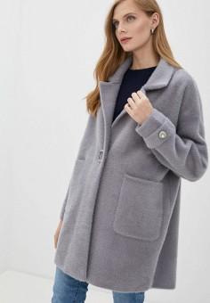 Шуба, Grand Style, цвет: серый. Артикул: GR025EWKA209. Одежда / Верхняя одежда / Шубы и дубленки