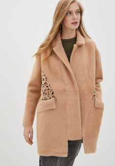 Шуба, Grand Style, цвет: коричневый. Артикул: GR025EWKGIJ0. Одежда / Верхняя одежда / Шубы и дубленки