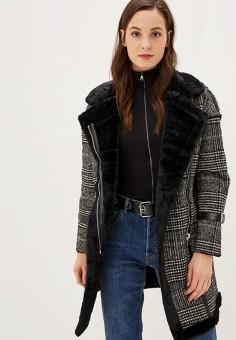 Пальто, Grand Style, цвет: черный. Артикул: GR025EWPUI29. Одежда / Верхняя одежда / Пальто / Зимние пальто