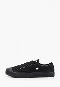 Кеды, G-Star, цвет: черный. Артикул: GS001AMJCNH7. Обувь / Кроссовки и кеды