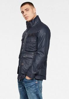Куртка джинсовая, G-Star, цвет: черный. Артикул: GS001EMIBED5. Одежда / Верхняя одежда / Джинсовые куртки
