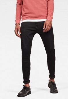 Джинсы, G-Star, цвет: черный. Артикул: GS001EMKDFP2. Одежда / Джинсы / Зауженные джинсы