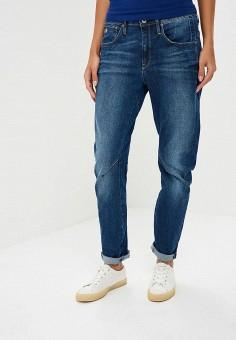 Джинсы, G-Star, цвет: синий. Артикул: GS001EWBPBW9. Одежда / Джинсы / Узкие джинсы