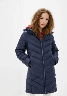 Пуховик, G-Star, цвет: синий. Артикул: GS001EWFZMA0. Одежда / Верхняя одежда / Пуховики и зимние куртки / Пуховики