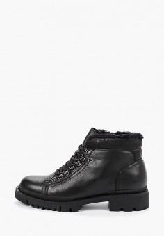 Ботинки, Guido Grozzi, цвет: черный. Артикул: GU014AMGMAP9. Обувь / Ботинки / Низкие ботинки