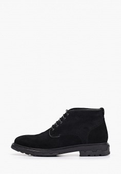 Ботинки, Guido Grozzi, цвет: черный. Артикул: GU014AMGWAM2. Обувь / Ботинки