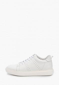 Кеды, Guido Grozzi, цвет: белый. Артикул: GU014AMJCRW1. Обувь / Кроссовки и кеды
