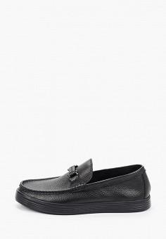 Лоферы, Guido Grozzi, цвет: черный. Артикул: GU014AMJCRW3. Обувь