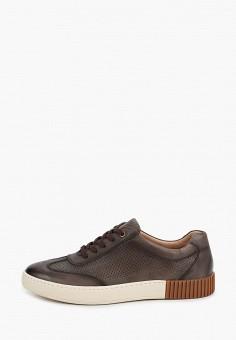 Кеды, Guido Grozzi, цвет: коричневый. Артикул: GU014AMJCRX9. Обувь / Кроссовки и кеды