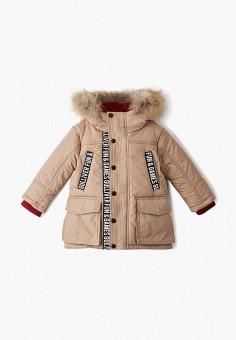 Куртка утепленная, Gulliver, цвет: бежевый. Артикул: GU015EBFODX4. Мальчикам / Одежда / Верхняя одежда / Куртки и пуховики