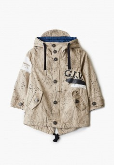 Куртка, Gulliver, цвет: бежевый. Артикул: GU015EBIBXS1.