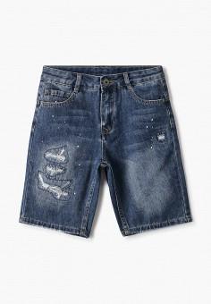 Шорты джинсовые, Gulliver, цвет: синий. Артикул: GU015EBJBAJ3.