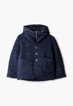 Куртка утепленная, Gulliver, цвет: синий. Артикул: GU015EBJOVK3. Мальчикам / Одежда / Верхняя одежда