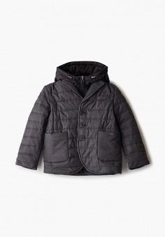 Куртка утепленная, Gulliver, цвет: серый. Артикул: GU015EBJOVK4. Мальчикам / Одежда / Верхняя одежда / Куртки и пуховики