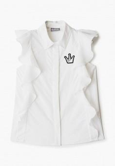 Блуза, Gulliver, цвет: белый. Артикул: GU015EGIBUV4.