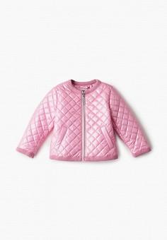 Куртка утепленная, Gulliver, цвет: розовый. Артикул: GU015EGIBUV7. Девочкам / Одежда / Верхняя одежда / Куртки и пуховики