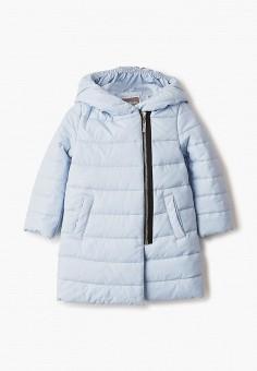Куртка утепленная, Gulliver, цвет: голубой. Артикул: GU015EGIBUV8. Девочкам / Одежда / Верхняя одежда / Куртки и пуховики