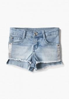 Шорты джинсовые, Gulliver, цвет: голубой. Артикул: GU015EGJBAC9.