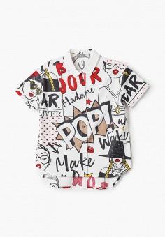 Рубашка, Gulliver, цвет: белый. Артикул: GU015EGJBAG7.