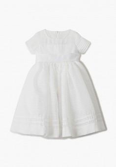 Платье, Gulliver, цвет: белый. Артикул: GU015EGJBAM2.