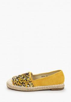 Эспадрильи, Guapissima, цвет: желтый. Артикул: GU016AWJHMP6. Обувь / Эспадрильи