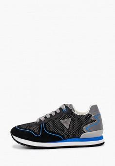 Кроссовки, Guess, цвет: черный. Артикул: GU460ABIZKX2. Мальчикам / Обувь / Кроссовки и кеды