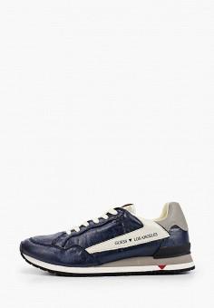 Кроссовки, Guess, цвет: синий. Артикул: GU460AMILBK0.