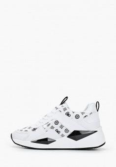 Кроссовки, Guess, цвет: белый. Артикул: GU460AWHJGL4.