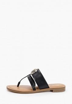 Сабо, Guess, цвет: черный. Артикул: GU460AWHJGN6. Обувь / Сабо и мюли