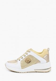 Кроссовки, Guess, цвет: золотой. Артикул: GU460AWHJGP8.