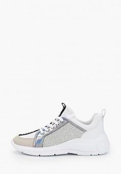 Кроссовки, Guess, цвет: серебряный. Артикул: GU460AWITIC3.