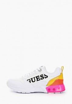 Кроссовки, Guess, цвет: белый. Артикул: GU460AWITIC8.