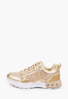 Кроссовки, Guess, цвет: золотой. Артикул: GU460AWITID0.
