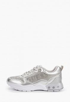 Кроссовки, Guess, цвет: серебряный. Артикул: GU460AWITID1.