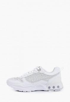 Кроссовки, Guess, цвет: белый. Артикул: GU460AWIZKY7.