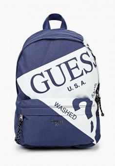 Рюкзак, Guess, цвет: синий. Артикул: GU460BBJOVY1. Мальчикам / Аксессуары