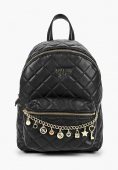 Рюкзак, Guess, цвет: черный. Артикул: GU460BGJOVX8. Девочкам / Аксессуары