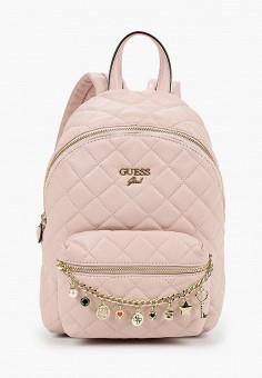 Рюкзак, Guess, цвет: розовый. Артикул: GU460BGJOVX9. Девочкам / Аксессуары