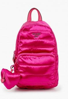 Рюкзак, Guess, цвет: розовый. Артикул: GU460BGJOVY0. Девочкам / Аксессуары