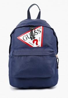 Рюкзак, Guess, цвет: синий. Артикул: GU460BKBTYT4. Мальчикам / Аксессуары