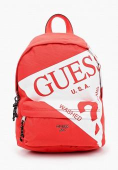 Рюкзак, Guess, цвет: оранжевый. Артикул: GU460BKJOVW7. Мальчикам / Аксессуары