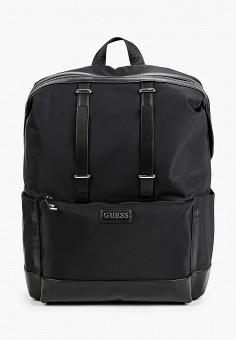 Рюкзак, Guess, цвет: черный. Артикул: GU460BMHJJS2. Аксессуары / Рюкзаки