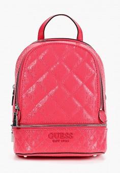 Рюкзак, Guess, цвет: розовый. Артикул: GU460BWHJHT4. Аксессуары / Рюкзаки