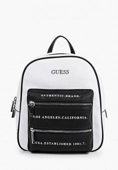 Рюкзак, Guess, цвет: белый. Артикул: GU460BWHJHZ8. Аксессуары / Рюкзаки