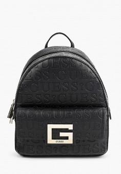 Рюкзак, Guess, цвет: черный. Артикул: GU460BWHJJF0. Аксессуары / Рюкзаки