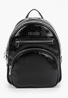 Рюкзак, Guess, цвет: черный. Артикул: GU460BWJLED0. Аксессуары / Рюкзаки / Рюкзаки