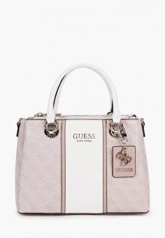 Сумка, Guess, цвет: розовый. Артикул: GU460BWJLEF1.