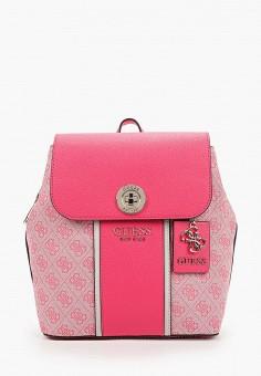 Рюкзак, Guess, цвет: розовый. Артикул: GU460BWJLEF5. Аксессуары / Рюкзаки